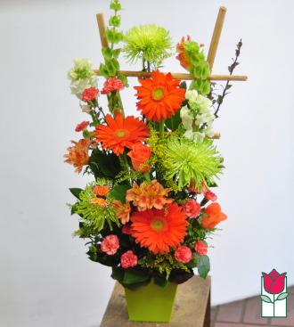 beretania florist callie contemporary spring arrangement