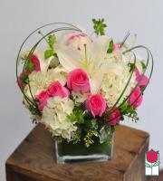 beretania florist avery bouquet honolulu hawaii compact flower arrangement design wedding