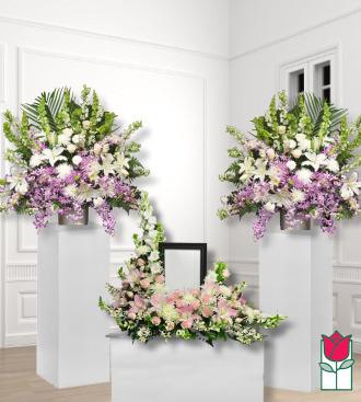 beretania florist funeral package 1 honolulu hawaii funeral flower delivery sympathy flowers