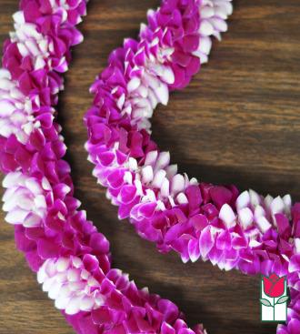 beretania florist purple spiral lei delivery in honolulu