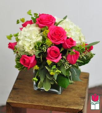 Beretania\'s Pink Compact Bouquet