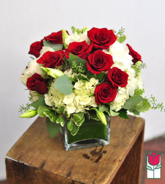 Beretania\'s Red Compact Bouquet