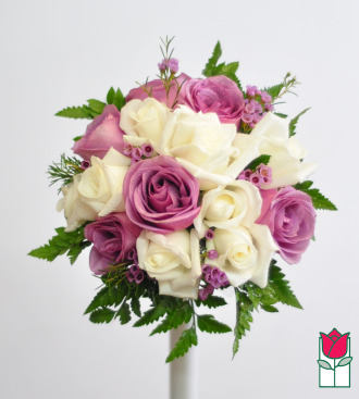 French Bouquet - White & Lav Luxe