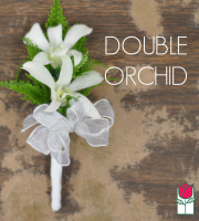 Boutineer - Double Orchid