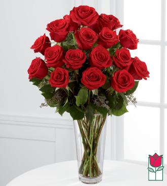 Beretania\'s 1.5 Dozen Red Rose Bouquet