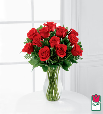 beretania florist short stem rose arrangement
