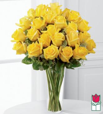 beretania florist 2 dozen yellow rose bouquet honolulu rose delivery hawaii florist