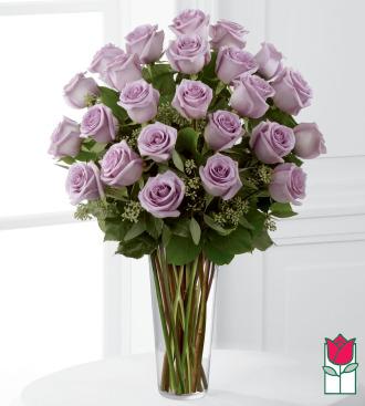 Beretania\'s 2 Dozen Lavender Rose Bouquet