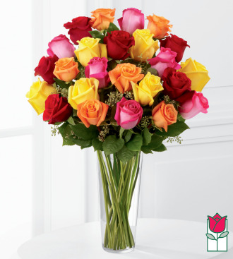 The BF 2 Dozen Sweethearts Rose Bouquet