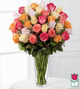 beretania florist perfect pastel rose bouquet honolulu florist hawaii florist honolulu flower shop