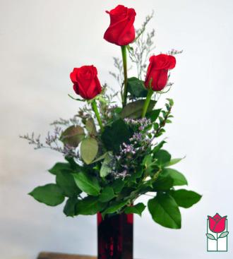 Beretania\'s Triple Rose Bouquet