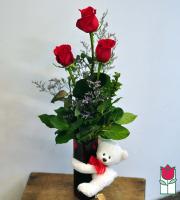 Beretania's Rose Hug Bouquet