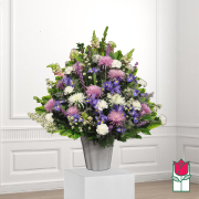 Beretania Florist Palaau Sympathy Arrangement honolulu funeral flower delivery hawaii