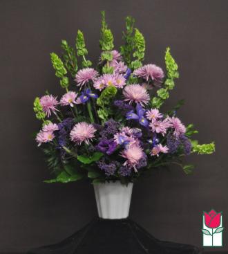 Beretania Florist Moiliili Sympathy Arrangement Honolulu Funeral Flower Delivery Hawaii