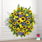 Kiholo funeral wreath delivery in honolulu hawaii funeral florist flowers