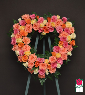 The BF Heart Mini Wreath