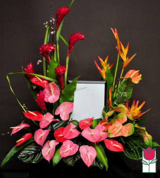 funeral flowers delivery in honolulu beretania florist wailoa river picture urn piece
