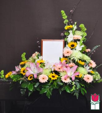 beretania florist kaanapali picture urn piece honolulu hawaii funeral flower delivery