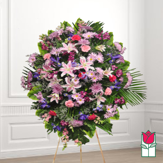 beretania florist mackenzie wreath honolulu hawaii funeral flower delivery