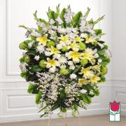 beretania florist manuka wreath honolulu hawaii funeral flower delivery