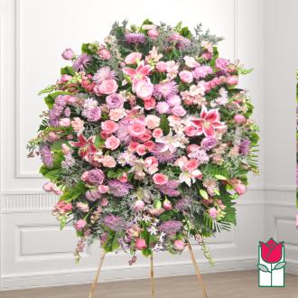 beretania florist nualolo wreath honolulu hawaii sympathy wreath delivery