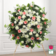 beretania florist kalaheo wreath honolulu hawaii sympathy wreath delivery