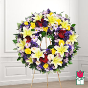 Hanapepe funeral wreath delivery in honolulu hawaii funeral florist flowers