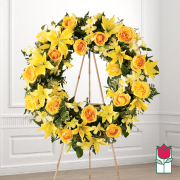 Friendship funeral wreath delivery in honolulu hawaii funeral florist flowers