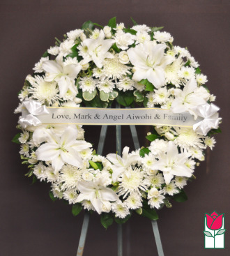 The BF Waimea Ring Wreath