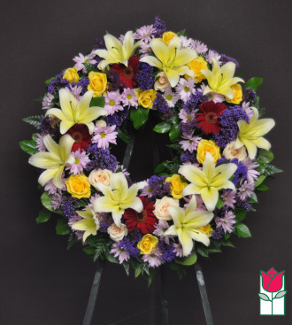 The BF Hanapepe Ring Wreath