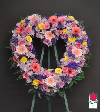 The BF Aikahi Heart Wreath