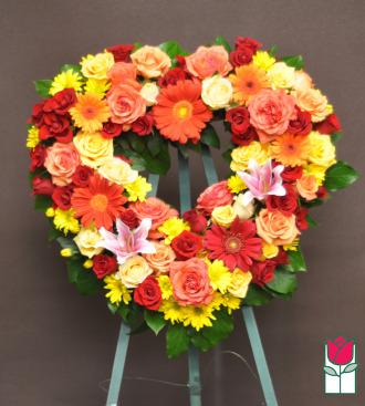 The BF Alewa Heart Wreath