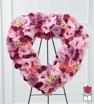 The BF Hawaii Loa Heart Wreath