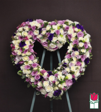The BF Coco Heart Wreath