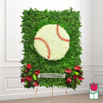 beretania florist baseball wreath