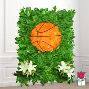 beretania florist basketball wreath