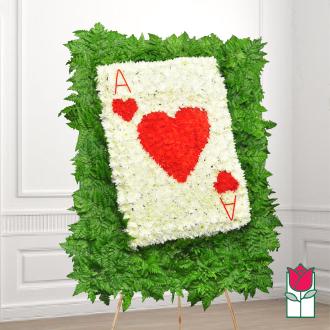 beretania florist card wreath