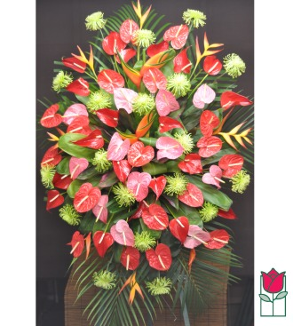 Beretania\'s Mililani Tropical Wreath