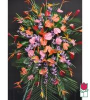 The BF Lanikai Tropical Wreath