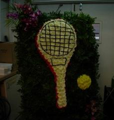 Beretania\'s Tennis Racket Wreath