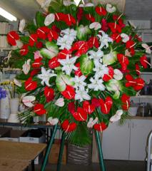 Exotic Farewell Wreath