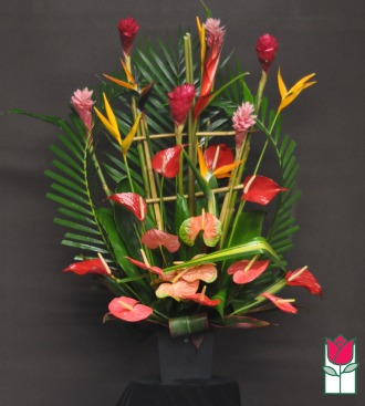 Beretania\'s Bishop Tropical Arrangement