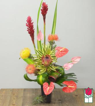 Beretania\'s Exotic Beauty Tropical Bouquet