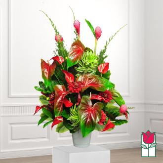 beretania florist liholiho tropical arrangement