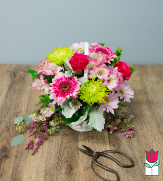 Beretania\'s Enchanting Garden Basket