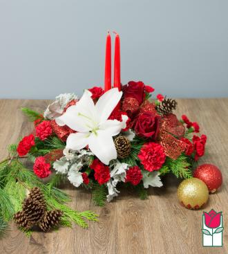 Beretania\'s Holiday Classics Centerpiece