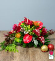 Beretania's Tropic Holiday Centerpiece