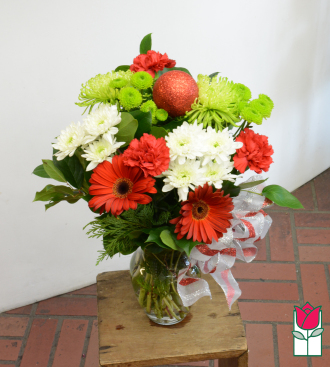beretania florist winter love bouquet honolulu hawaii christmas flower delivery