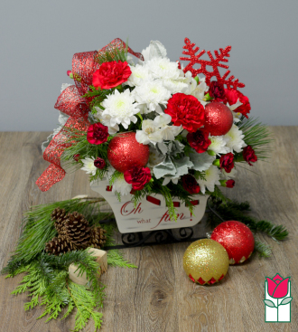 <b>[SOLD OUT]</b> Beretania\'s Santa\'s Sleigh Bouquet