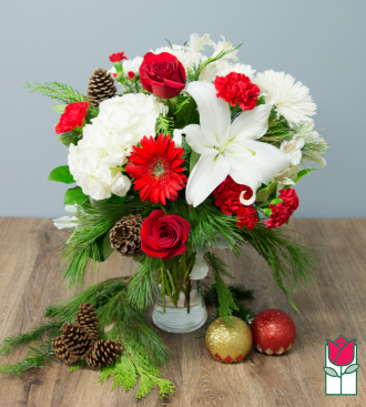 beretania florist christmas flower, plants, and gifts delivery in honolulu hawaii Mrs. Claus